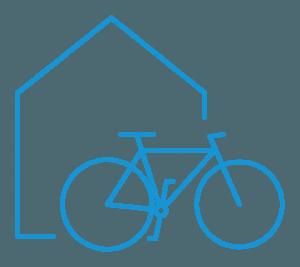 Bike Center Croatia pictogram blue - Cycle Croatia