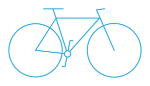 cycling multi day tour pictogram blue - Cycle Croatia