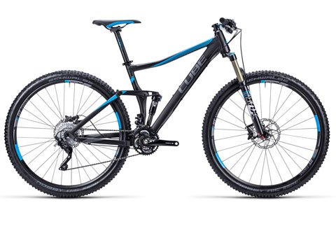 Fully MTB Cube Stereo 120 HPA Race - bike rental - Cycle Croatia