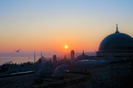 Istanbul bei Sonnenaufgang