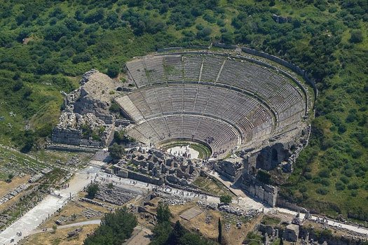 antikes Theater in Ephesus