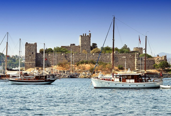 turkey-bodrum-castle-of-st-peter